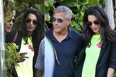 Las mejores imágenes de George Clooney y Amal Alamuddin
