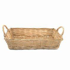 16 inch gold wicker hamper basket for fruit, food or gift hampers empty   eBay