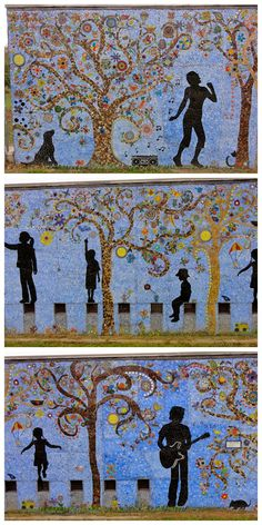 Exploring Austin's Street Art, Murals & Mosaics   Free Fun in Austin---A Day at the Park: Shipe Park, 4400 Avenue G