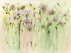 Wild clover by Sue Fenlon