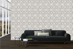 Tigers Eye - Wallpaper from Contemporary Wallcovering - design by Rene Veldsman www.contemporarywallcovering.com
