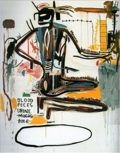 """Pharynxs"", 1985 Jean-Michel Basquiat"
