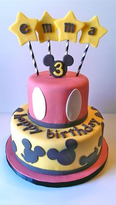 43 Best Mickey Mouse Cake Images Mickey Mouse Cake