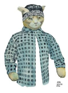 Cholo cat is cholo