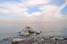 Dead Sea, Israel. I want to float. If you want to know, it's unfortunately losing its salt.