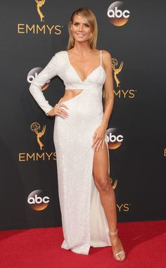 Heidi Klum, 2016 Emmy Awards, Arrivals