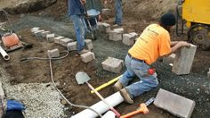 As with any retaining wall drainage is key.. Make sure it's done right the first time... #allaccesslandscape