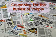 Busy People's Guide to Couponing and Saving Money  Quick List of 7 Tips Ebates Ebates Ebates for any online shopping Pick only the stores that you go to frequently already. (Check them…