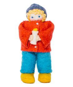 Another great find on #zulily! Easter Light Boy Figurine #zulilyfinds