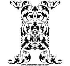 Free Vector Vertical Ornament
