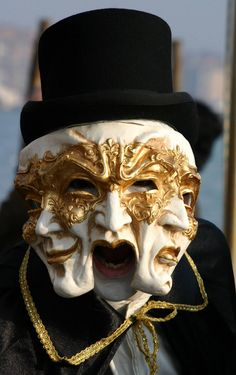 Taken during the opening weekend of the Carnival in Venice, Italy, in January Venetian Carnival Masks, Carnival Of Venice, Venetian Masquerade, Masquerade Masks, Character Art, Character Design, Venice Mask, Mask Painting, Cool Masks