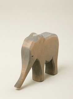 Couverture and The Garbstore - Childrens - Ostheimer - Hand crafted wooden elephant Wooden Animals, Wooden Toys, Wooden Elephant, Little People, Wood Carving, Wooden Signs, Wood Projects, Hardwood, Baby Shower