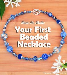 Have you ever seen a strand of beads at the craft store and wished you knew what to do with them? We'll show you bead stringing and how to make a necklace!