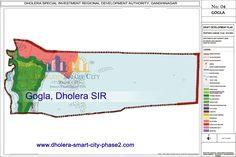 Map of Gogla, Dholera SIR. #Dholera #DholeraSIR #DholeraSmartCity #Gujarat