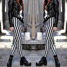 WWW.SHOPPUBLIK.COM #publik #shoppublik #black #white #striped #leggings #chic #cute #sexy #hot #trendy #sale #onsale #fashionista #fashionfeen #fashionforward #fallfashion #fashionista #fashiontrend #fashion #womens #clothes #style #accessories #jewelry #ootd #outfit #inspiration #streestyle