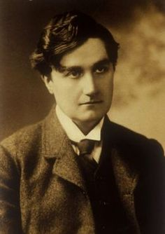 """Ralph Vaughan Williams of Down Ampney, Gloucestershire. He set four of his niece Fredegond's poems to music, also wrote a number of distinguished symphonies, songs and other compositions including """"Greensleeves. Music Like, Kinds Of Music, Vaughan, Classical Music Composers, Jazz, People Of Interest, English Characters, Ballet, Thing 1"""