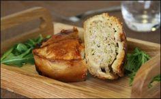 Welsh Recipes : Welsh Dragon Pie - pork, leek, and cumin