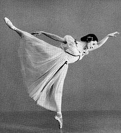 Cuban ballerina Alicia Alonso.
