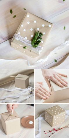 DIY Eco-Friendly Gift Package | Подарочная упаковка в эко-стиле