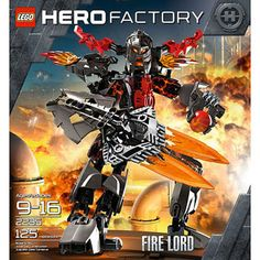 New Lego Hero Factory 2235 Fire Lord 125 Pieces Set SEALED   eBay....OBO $79.95