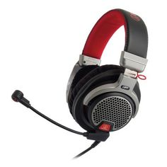 AudioTechnica ATHPDG1 OpenAir Premium Gaming Headset with 6 Boom Microphone -- Read more at the image link. (This is an affiliate link) #CordedHeadsets
