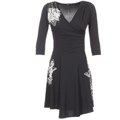 Rövid+ruhák+Desigual+GRAFU+Fekete++24839.00+Ft