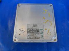 1990 91 LEXUS ES250 A/T CALIF. ENGINE COMPUTER ECU 89661-32610