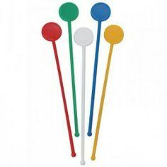 Agitadores en colores surtidos para cóctel fabricados en plástico. http://www.ilvo.es/es/product/agitadores-cocteleria-plastico-