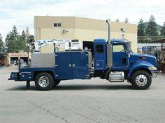 Farm Trucks, Diesel Trucks, Cool Trucks, Big Trucks, Welding Trucks, Welding Rigs, Truck Mechanic, Medium Duty Trucks, Future Trucks