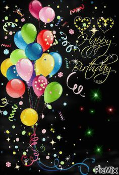 Sparkling Happy Birthday Balloons birthday quotes happy birthday quotes birthday images birthday animated images birthday quotes birthday greetings birthday images birthday quotes birthday sister birthday wishes Animated Happy Birthday Wishes, Free Happy Birthday Cards, Happy Birthday Frame, Happy Birthday Wishes Images, Happy Birthday Video, Happy Birthday Celebration, Happy Birthday Flower, Birthday Frames, Happy Birthday Pictures