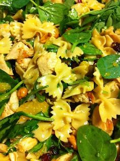 Asian Pasta Salad with Chicken