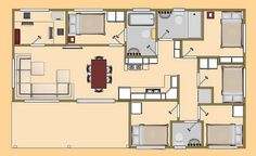 Shipping Container Floorplans | Home Lux Design