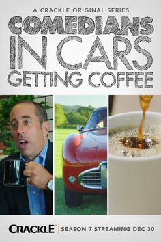 Remember for Crackle Streaming Service. Comedians in Cars Getting Coffee.. fav episode still mel brooks/carl reiner