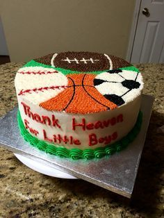 Surprising Little Boys Sports Theme Birthday Cupcakes About Sport Cakes On Funny Birthday Cards Online Elaedamsfinfo