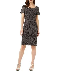 Phase Eight Taya Embroidered Dress