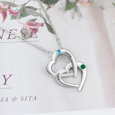 Personalised name necklace , customised gifts for women, personalised birthstone necklace, bespoke gifts for women, customised gifts for her, personalised gift for mom, customised gift for mother #necklace #birthstone #personalised #personalized #customised #customized #gift #gifts #etsy #etsyjewellery #etsygifts