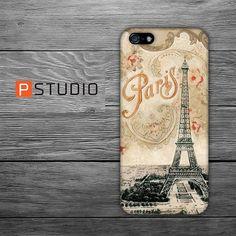 PIP029  Eiffel  Vintage Paris  Iphone 5 Case  by PStudioShop, $4.99