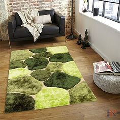Handcraft Rugs Shag Rug Our best seller Rug Collection Super Shiny and Super Soft Cobble Stone Contemporary Modern Design ColorLight Green Pistachio Sage GreenDark Green -- You can find more details by visiting the image link. Note: It's an affiliate link to Amazon