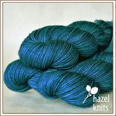 Yarn : Hazel Knits : Turquoise - gorgeous color