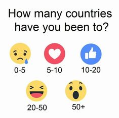Why I won't tell you How Many Countries I've Visited. Facebook Engagement Posts, Social Media Engagement, Facebook Party, For Facebook, Body Shop At Home, The Body Shop, Fb Games, Emoji Games, Group Names Ideas