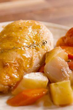 Skillet Roast Chicken