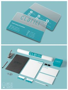 What the Fox Creative is a graphic design agency created a sleek and quirky brand for Clariti, a business advisory group specialising in taking an organisation to the next level.   The job involved: branding design, logo design, business card design and stationary design.