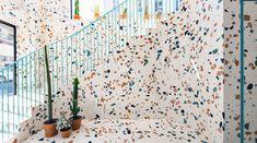Papier peint terrazzo ferm living maison pinterest terrazzo