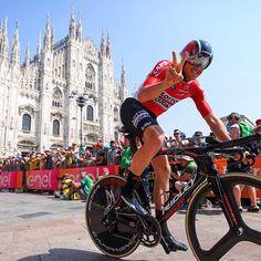 Adam Hansen 17th consecutive Grand Tourr Giro100 @keitsuji / @tdwsport