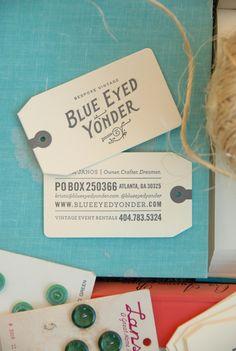 Blue Eyed Yonder Business card