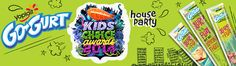 Go-GURT® & Nickelodeon Kids' Choice Awards House Party