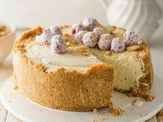 Witsjokolade-cremora-tert. Sarie Resep Tart Recipes, Cheesecake Recipes, My Recipes, Sweet Recipes, Baking Recipes, Favorite Recipes, Eggless Recipes, Baking Desserts, Curry Recipes