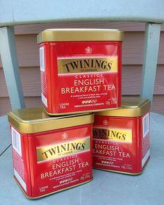 old tin boxes | One Dozen Twinings Tea Tins