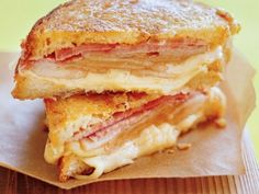 Μενταγιόν με ζαμπόν και τυρί