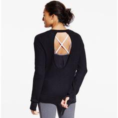 CALIA by Carrie Underwood Women's Effortless Open Back Sweater | CALIA Studio
